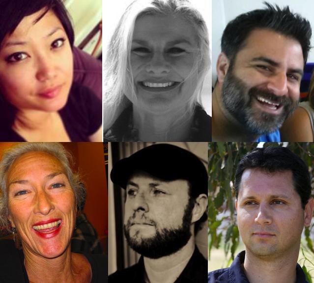 Top Row: Anna Badua, Donna Hilbert, Kevin Lee  Bottom Row: Tamara Madison, Clint Margrave, Paul Kareem Tayyar