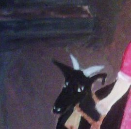Girl and Goat 4